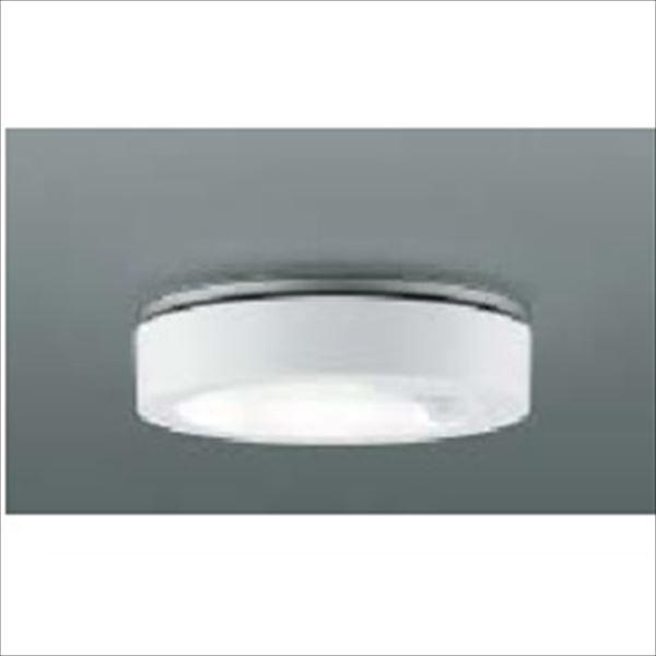 コイズミ 薄型軒下シーリング 人感センサマルチタイプ 白熱球100Wクラス AU42191L 『ガーデンライト エクステリア照明 ライト LED』 ファインホワイト
