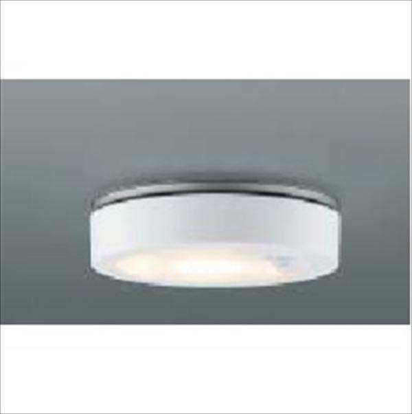 コイズミ 薄型軒下シーリング 人感センサマルチタイプ 白熱球60Wクラス AU44849L 『ガーデンライト エクステリア照明 ライト LED』 ファインホワイト