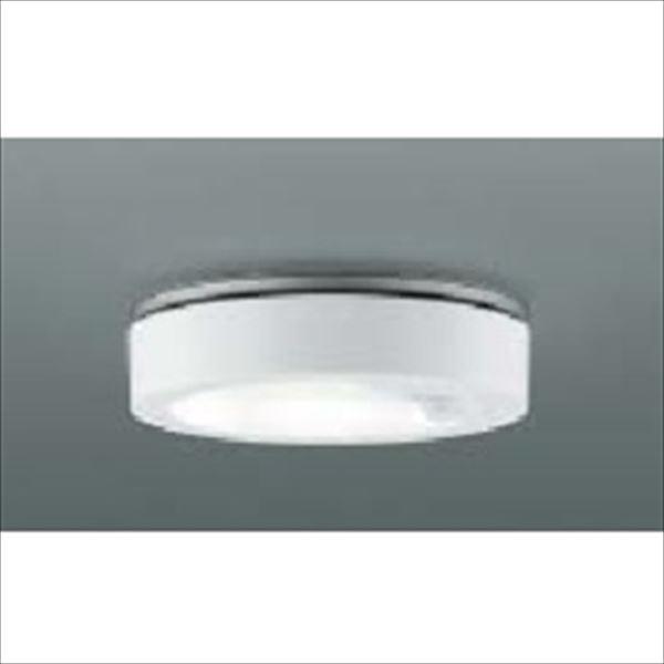 コイズミ 薄型軒下シーリング 人感センサマルチタイプ 白熱球60Wクラス AU44850L 『ガーデンライト エクステリア照明 ライト LED』 ファインホワイト