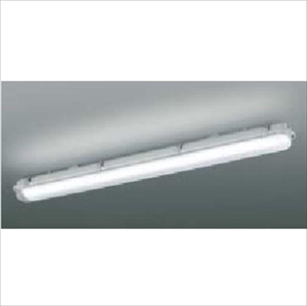 コイズミ LED防塵・防水シーリング FHF32W×2灯クラス 直付・壁付取付 AU45794L 『ガーデンライト エクステリア照明 ライト LED』 ライトグレー