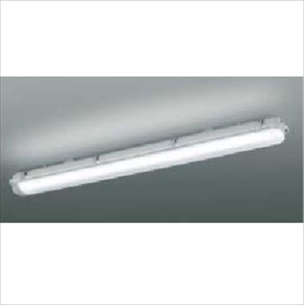 コイズミ LED防塵・防水シーリング FHF32Wクラス 直付・壁付取付 AU45795L 『ガーデンライト エクステリア照明 ライト LED』 ライトグレー