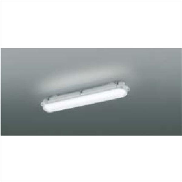 コイズミ LED防塵・防水シーリング FHF16Wクラス 直付・壁付取付 AU45796L 『ガーデンライト エクステリア照明 ライト LED』 ライトグレー