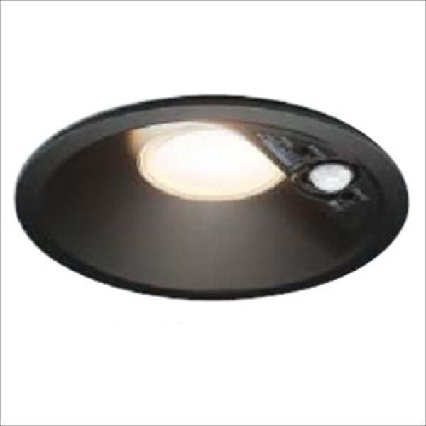 コイズミ 人感センサ付ダウンライト 「屋内屋外兼用」 開口径125ベースタイプ マルチタイプ 白熱球60Wクラス AD41932L 電球色 『ガーデンライト エクステリア照明 ライト LED』 黒色