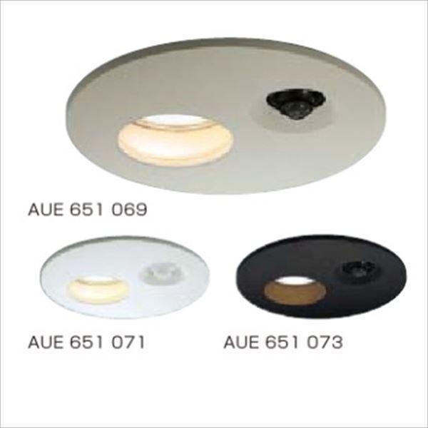 コイズミ ダウンライト ランプタイプ 「人感センサ付」 開口径150ベースタイプ 人感センサタイマー付ON-OFFタイプ 白熱球60Wクラス AUE651 073 『ガーデンライト エクステリア照明 ライト LED』 ブラック