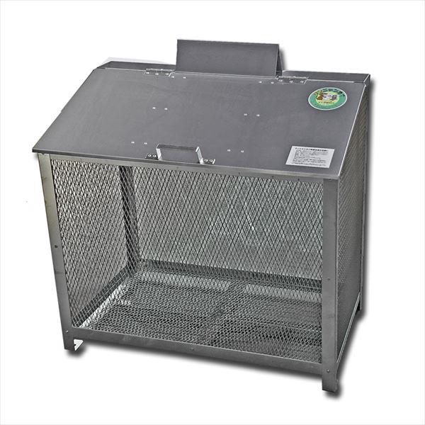 サステック ゴミ収納BOX ワンニャンカア  B-90  『ゴミ袋(45L)集積目安 7袋、世帯数目安 3世帯』『ゴミ収集庫』『ダストボックス ゴミステーション 屋外 ステンレス』