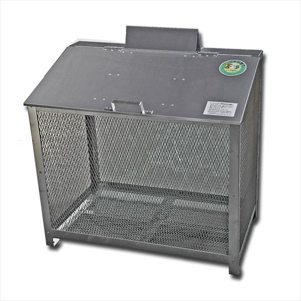 サステック ゴミ収納BOX ワンニャンカア  BH-90  『ゴミ袋(45L)集積目安 7袋、世帯数目安 3世帯』『ゴミ収集庫』『ダストボックス ゴミステーション 屋外 ステンレス』