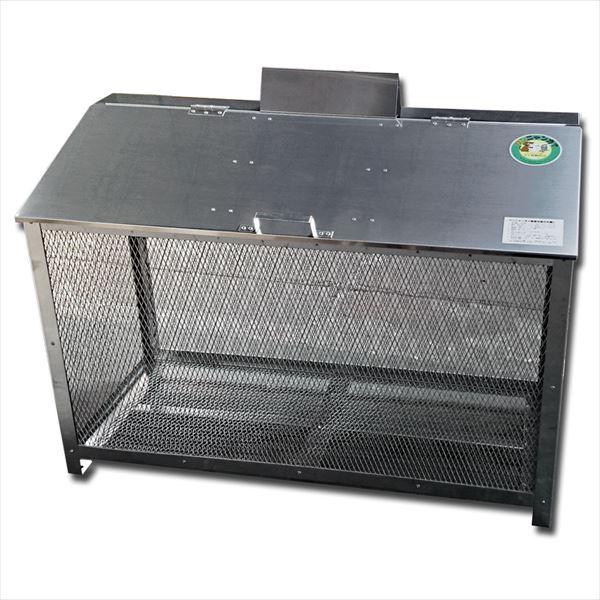 サステック ゴミ収納BOX ワンニャンカア  BH-120  『ゴミ袋(45L)集積目安 10袋、世帯数目安 5世帯』『ゴミ収集庫』『ダストボックス ゴミステーション 屋外 ステンレス』
