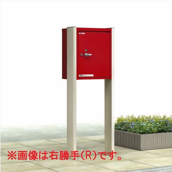 YKKAP ポスティモ 宅配ボックス1型 「柱(宅配ボックス)納まり」   レッド(VE)