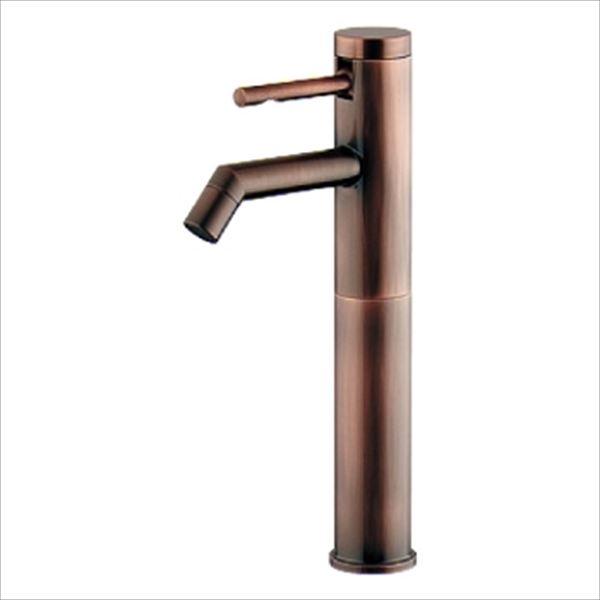 カクダイ 水洗金具 シングルレバー立水栓 ミドル ブロンズ 716-271-BP