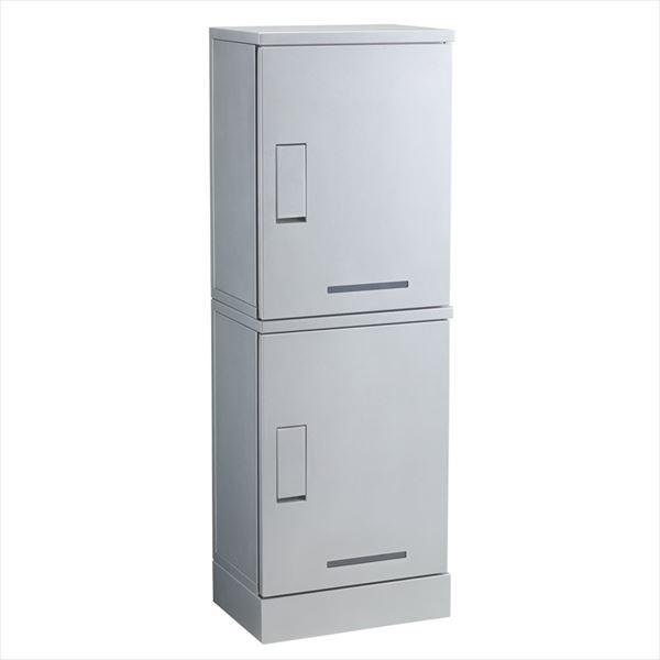 Kawamura ルスポ シェア(SHARE)集合住宅用 ボックス2段 架台設置タイプ KD2-50C 『宅配ボックス』