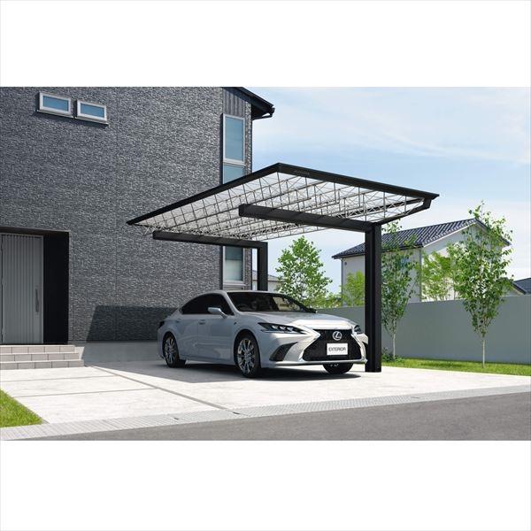 三協アルミ M.シェード2 梁置きタイプ 片側支持 5418 H23 ポリカーボネート屋根 カーポート 1台用 積雪20cmまで 耐風圧強度38m/s相当