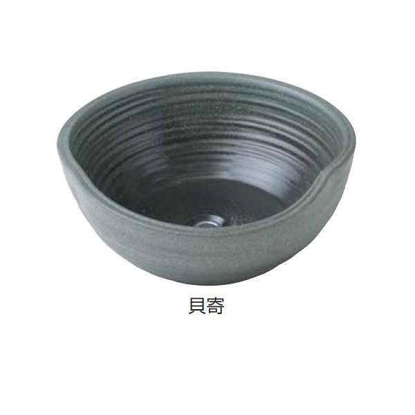 タカショー 陶器 ガーデンシンク 貝寄 『水栓柱・立水栓 水受け(パン)』 貝寄