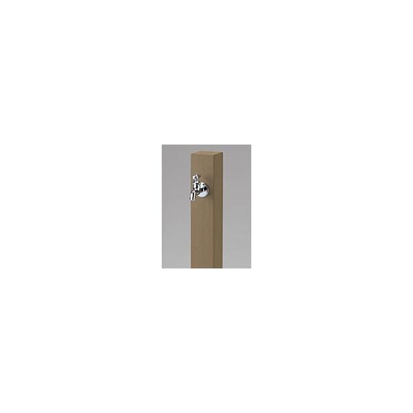 ニッコー 立水栓ユニット レヴウッドタイプ 『水栓柱・立水栓 蛇口 ニッコーエクステリア』 ライトブラウン