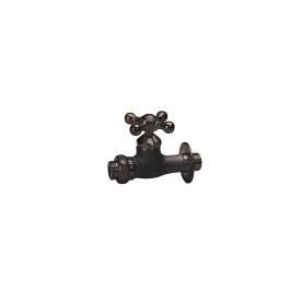 ニッコー 飾り蛇口 Fシリーズ 補助蛇口クロス F210 『水栓柱・立水栓 蛇口 ニッコーエクステリア』 ブロンズメッキ