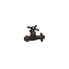 ニッコー 飾り蛇口 Nシリーズ 補助蛇口 ウエッジクロス N212 『水栓柱・立水栓 蛇口 ニッコーエクステリア』 ブロンズメッキ