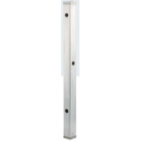 カクダイ ステンレス水栓柱(分水孔付) 70角 L=1200 624-113 『水栓柱・立水栓 蛇口は別売り』