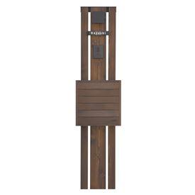 オンリーワン ウェルカムピラー機能門柱 トリプル天然木仕様 K52型 KE1-K52L (E17) 『機能門柱 機能ポール』