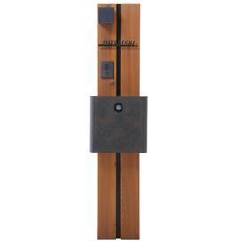オンリーワン ウェルカムピラー機能門柱 モードAtype 天然木仕様 K11型 KE1-K11OK 【機能門柱 機能ポール】