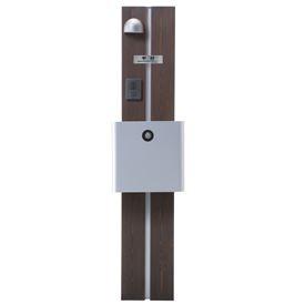 オンリーワン ウェルカムピラー機能門柱 モードAtype 天然木仕様 K13型 KE1-K13LS 【機能門柱 機能ポール】