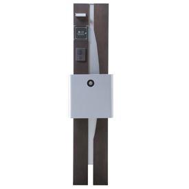 オンリーワン ウェルカムピラー機能門柱 モードBtype 天然木仕様 K21型 KE1-K21LS 【機能門柱 機能ポール】
