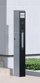 三協アルミ 機能ポール モデア プラン2 側面取り出しタイプ KPM *表札はネームシールとなります 『機能門柱 機能ポール』