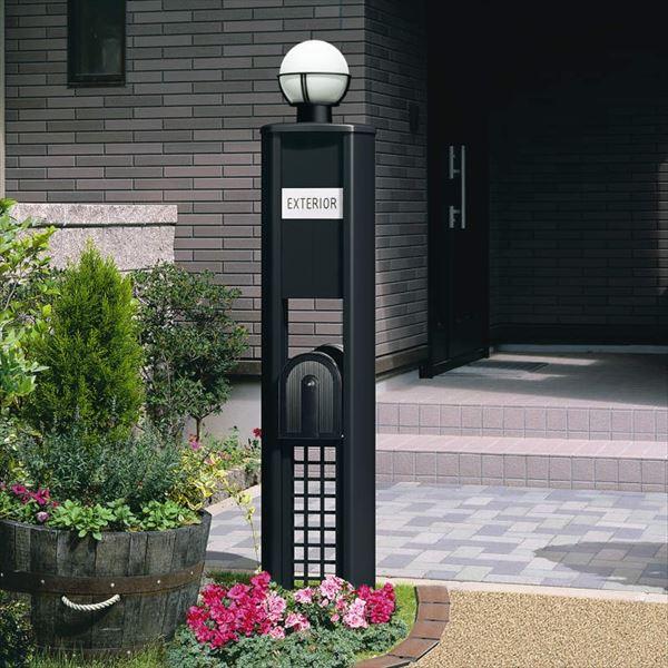 三協アルミ 機能門柱 KE型 プラン3 KE *表札はネームシールとなります 『機能門柱 機能ポール』