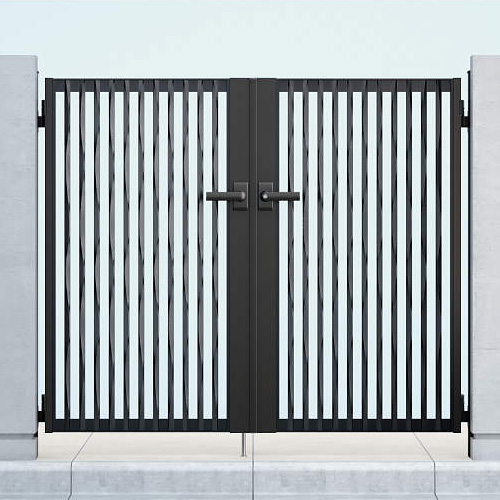 YKKAP アウトレットセール 特集 毎日激安特売で 営業中です シャローネ門扉 SC06型 両開きセット 07-12 門柱