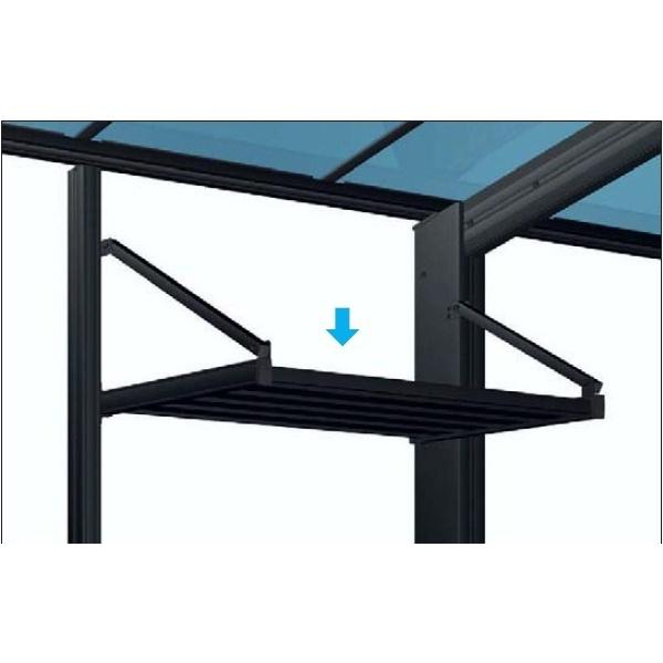 YKK レイナポートグラン 収納棚 レイナポートグランキャップポートグラン用 ハイルーフ用