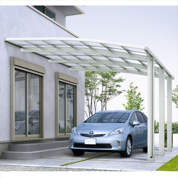 『全国配送』 YKK レイナベーカポートグラン50 基本セット 51-35 標準柱 熱線遮断ポリカーボネート屋根 CCA-NS 『アルミカーポート 1台用』 5135サイズ』