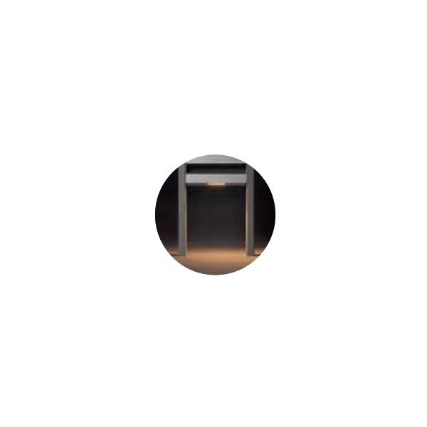 『本体と同時購入価格』 クレスコ エネルギーユニット部オプション・LED足元灯 エネルギーポスト玄関用 『機能門柱 機能ポール』