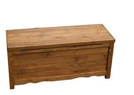 Sスタイル 木製収納庫 BB-W90BR ボックスベンチ 幅90   『小型 物置 屋外 DIY向け』 ブラウン
