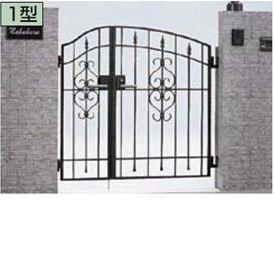 リクシル 門柱・親子開きセット 04・08-10 コラゾン1型門扉