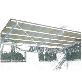 【 欠品中 】三菱ケミカル ポリカーボネート波板 ヒシ波ポリカ 8尺 10枚入り 『カーポート・テラスの屋根の修理、雨漏りなどのメンテナンスやリフォームをDIYで』