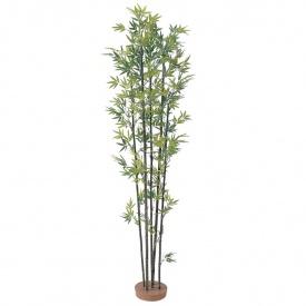 『人工植栽』 タカショー グリーンデコ和風 黒竹5本立 鉢無 1.8m GD-14L #21491400