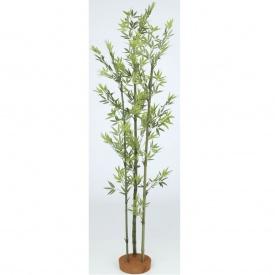 『人工植栽』 タカショー グリーンデコ和風 青竹3本立 鉢無 1.5m GD-22S #21500300