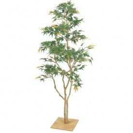 『人工植栽』 タカショー グリーンデコ和風 もみじ板付 青葉 1.3m GD-111 #21572000