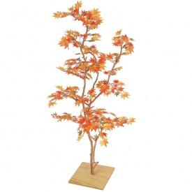 『人工植栽』 タカショー グリーンデコ和風 もみじ板付 紅葉 1.3m GD-110 #21571300