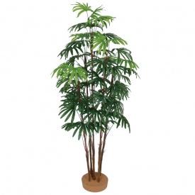 『人工植栽』 タカショー グリーンデコ和風 シュロチク5本立 鉢無 1.5m GD-125S #21549200
