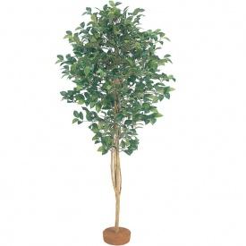 『人工植栽』 タカショー グリーンデコ和風 ツバキ 鉢無 1.5m GD-26S #21566900