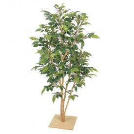 『人工植栽』 タカショー グリーンデコ和風 ベンジャミン板付 ナターシャ 1.3m GD-121 #21576800