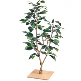 『人工植栽』 タカショー グリーンデコ和風 ミニつばき 板付 80cm GD-74