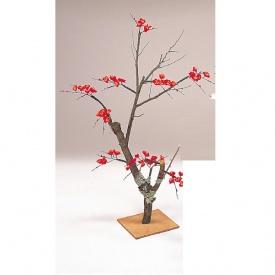 『人工植栽』 タカショー グリーンデコ和風 紅梅 90cm GD-76