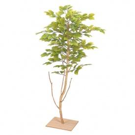 『人工植栽』 タカショー グリーンデコ和風 ミニブナ 板付 90cm GD-19