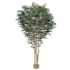 『人工植栽』 タカショー 大型人工樹 ベンジャミン 鉢無 3.0m GD-100