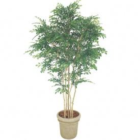 『人工植栽』 タカショー グリーンデコ鉢付 トネリコ 5本立 1.8m GD-150