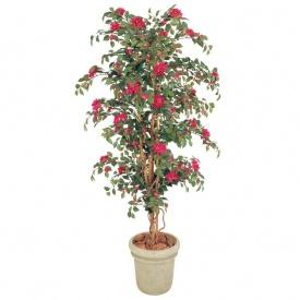 『人工植栽』 タカショー グリーンデコ鉢付 ブーゲンビリア 立木 1.8m GD-141L
