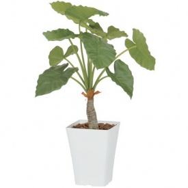 『人工植栽』 タカショー グリーンデコ鉢付 クワズイモ 0.9m GD-162S
