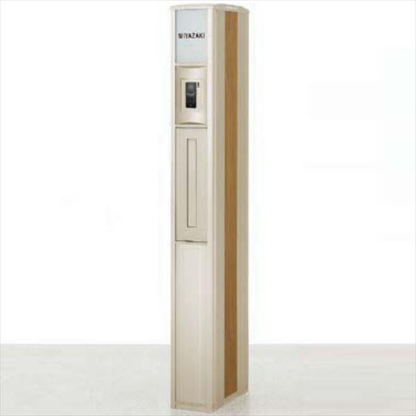 リクシル ファンクションユニット スリムスクエア ユニット型Cタイプ インターホンカバーB付き 『機能門柱 機能ポール』