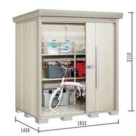 タクボ物置 ND/ストックマン ND-SZ1814 多雪型 結露減少屋根 『追加金額で工事も可能』 『屋外用中型・大型物置』 ムーンホワイト
