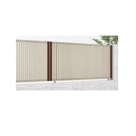 四国化成 アルディフェンス1型 本体 1020サイズ ADFA1-1020 『アルミフェンス 柵』 木調カラー